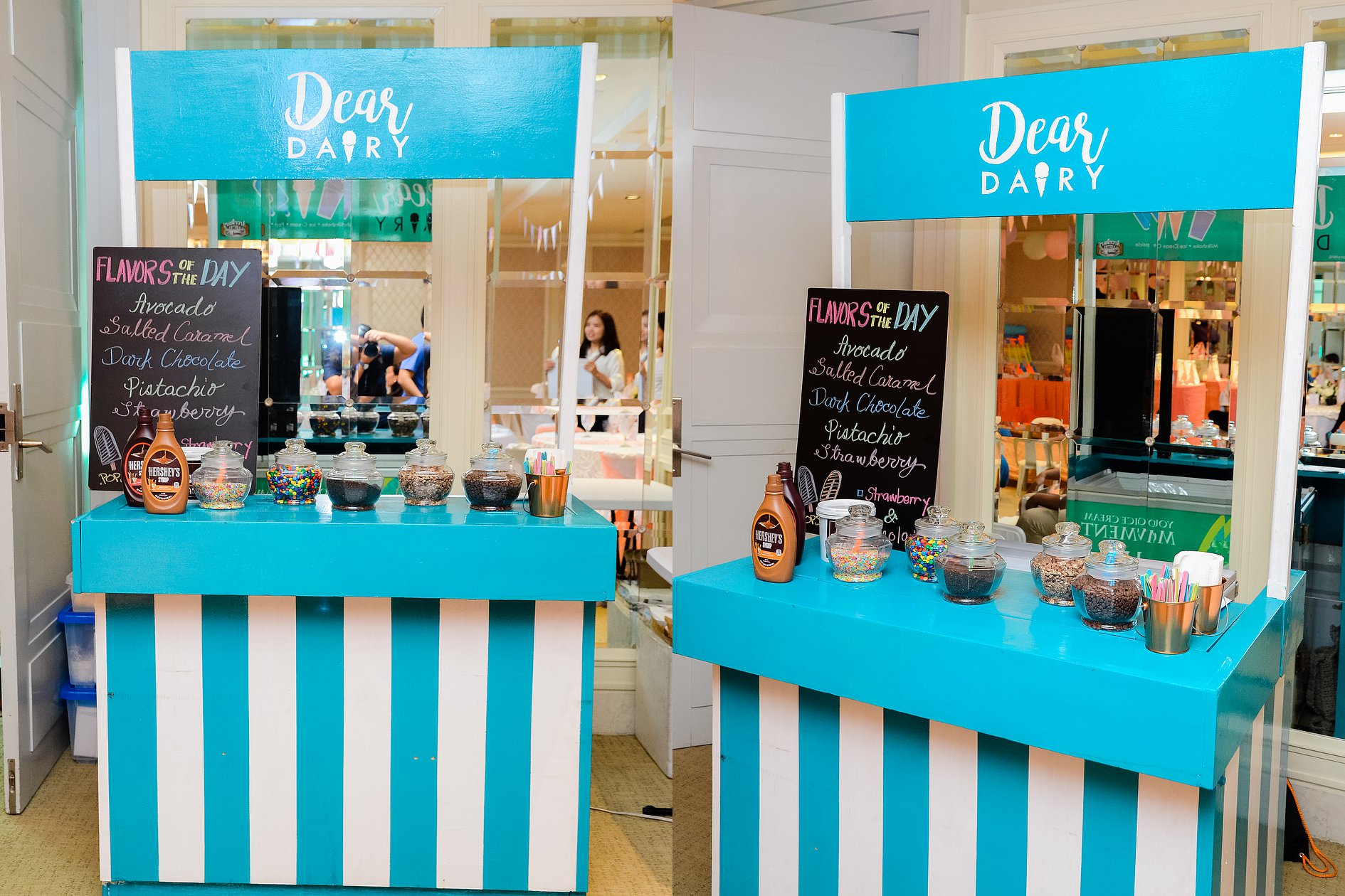 Dear Dairy Ice Cream Party Cart